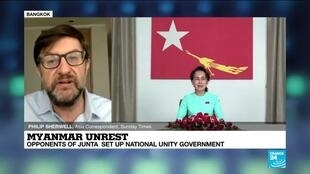 2021-04-16 11:07 Opponents of Myanmar's junta set up national unity government
