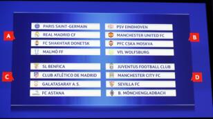 Le PSG sera notamment opposé au Real Madrid lors de la phase de poule de la Ligue des Champions.