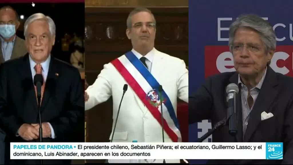 2021-10-05 01:01 Líderes latinoamericanos niegan su implicación en los 'Pandora Papers'