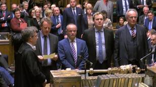 La Chambre des communes s'est prononcé en faveur d'un report du Brexit.