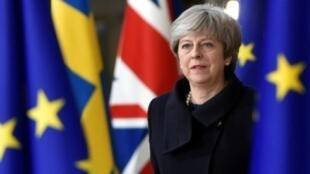 رئيسة الحكومة البريطانية تيريز ماي