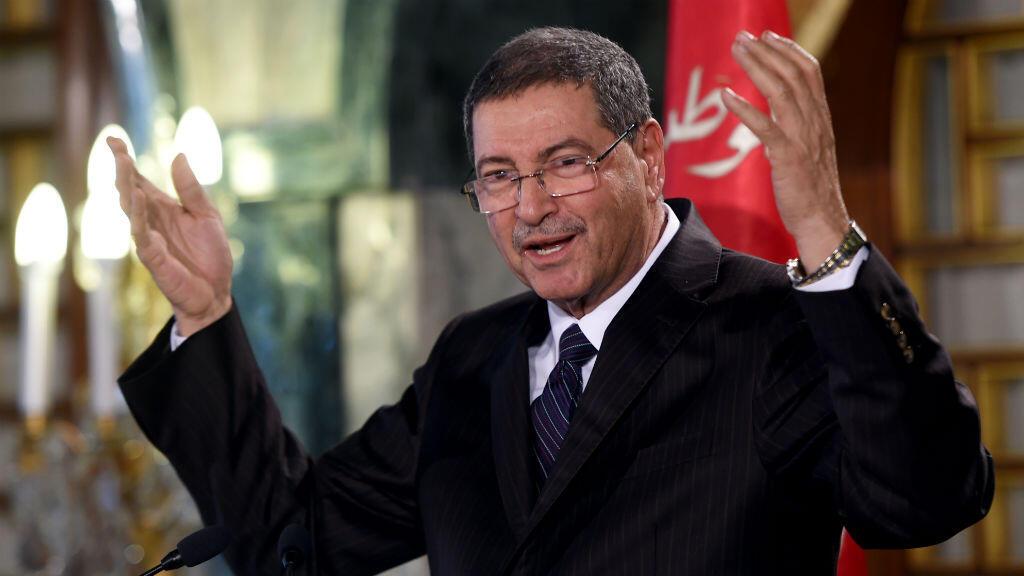 Le Premier ministre tunisien, Habib Essid.