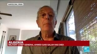 2019-12-23 12:31 Ahmed Gaid Salah 'was absolutely opposed to any idea of democracy', Senior Research Fellow Francis Ghilès says