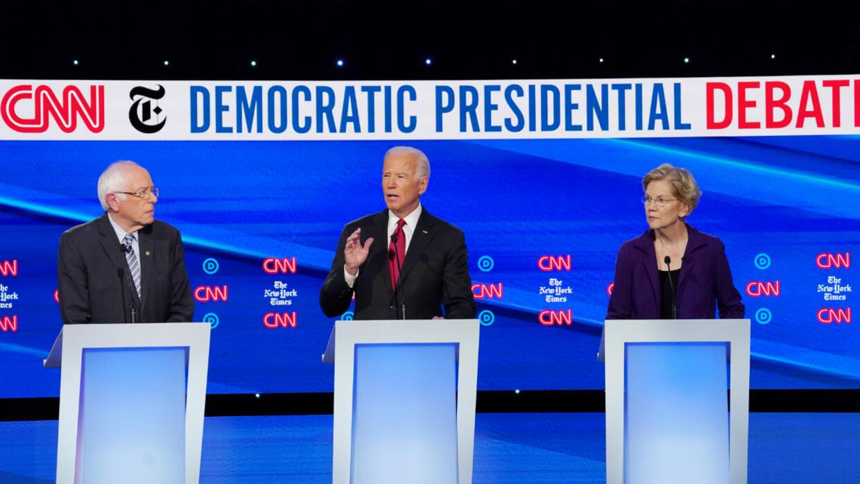 Débat démocrate : Elizabeth Warren, nouvelle cible favorite de ses concurrents