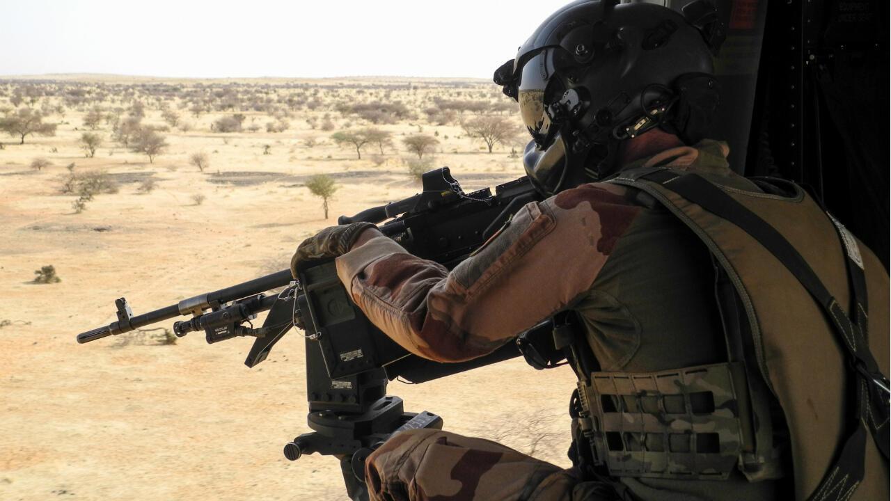France soldier Barkhane Mali Menaka
