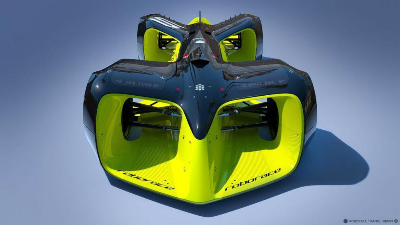 La Robocar, le prototype ultime de la voiture de course autonome.