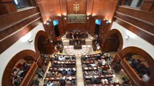 Le Parlement égyptien, au Caire, en septembre 2012.