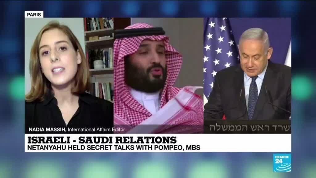 2020-11-23 15:05 Netanyahu met Saudi crown prince, Pompeo in Saudi Arabia