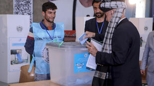 Ghani-Casts-Vote