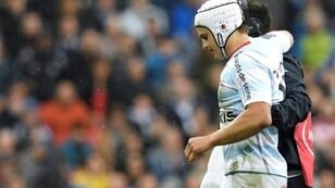 Final bow: Pat Lambie limped off in the European final in May and while his knee was recovering, his concussion symptoms worsened