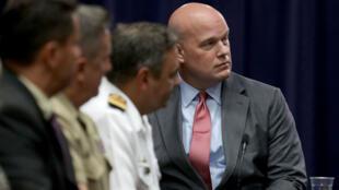 Le nouveau ministre de la Justice, Matthew Whitaker, à Washington D.C., en août 2018.