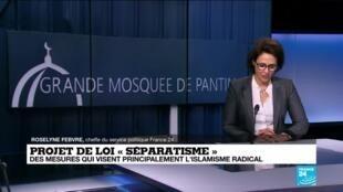 """2021-02-01 11:08 """"Séparatisme"""": premiers débats dans l'hémicycle du Palais-Bourbon"""