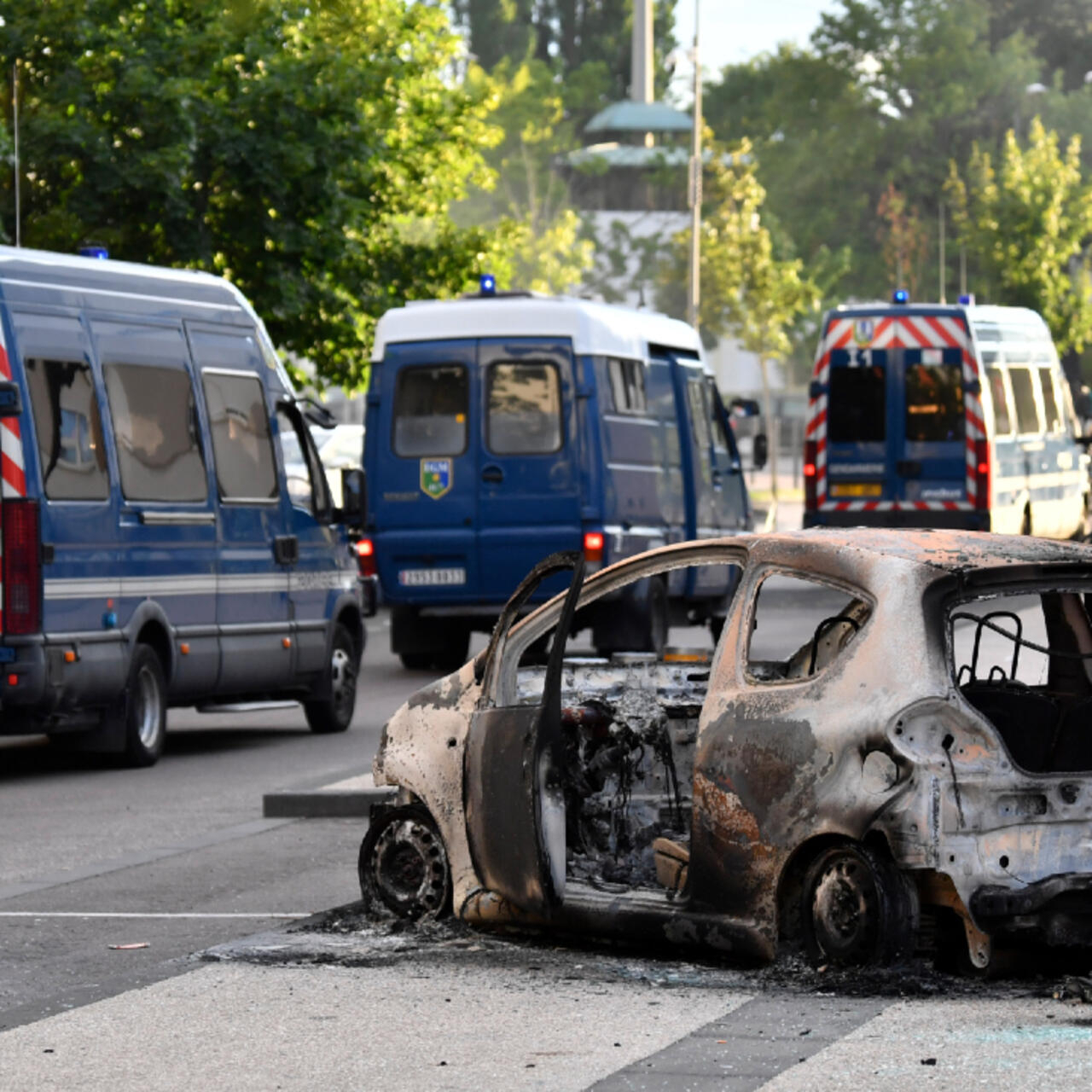 French City Of Dijon Rocked By Unrest Blamed On Chechens Seeking Revenge