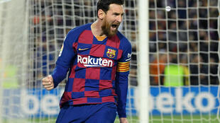 Lionel Messi's Barcelona lead La Liga with 11 rounds of the season to play