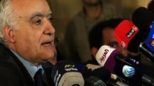 المبعوث الخاص للأمم المتحدة إلى ليبيا غسان سلامة