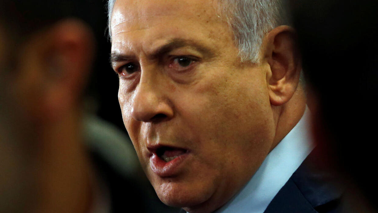 Israel's attorney general indicts Netanyahu on corruption charges