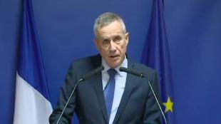 Le procureur François Molins a donné une conférence de presse lundi 26 mars 2018.