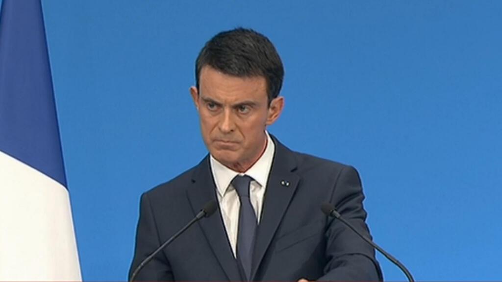 Le Premier ministre Manuel Valls, le 23 décembre 2015.