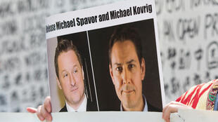 Canadians Michael Spavor (L) and Michael Kovrig were detained shortly after Huawei executive Meng Wanzhou was arrested in Canada, in what is widely seen as retaliation