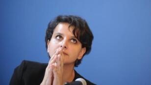 France's Education Minister Najat Vallaud-Belkacem