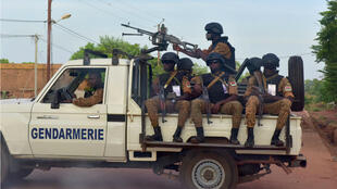 Des gendarmes burkinabè à Ouhigouya.