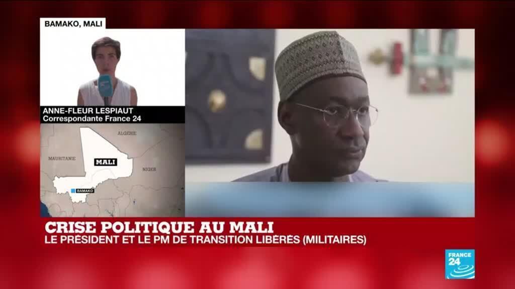 2021-05-27 10:01 Crise politique au Mali : le président et le Premier ministre de transition libérés