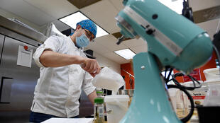 PastryStar is known for making high-end baking components but is now focused on producing hand sanitizer, which is in high demand during the coronavirus crisis