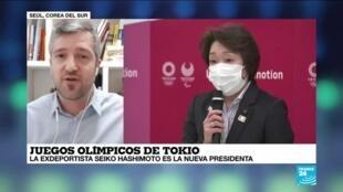 2021-02-18 12:31 Informe desde Seúl: una mujer pasa a ocupar el máximo cargo en el Comité Olímpico