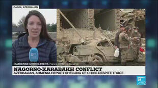 Catherine Norris-Trent reports from Ganja, Azerbaijan