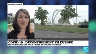 """2020-06-15 09:04 Déconfinement en Europe : """"Les Français sont nombreux à franchir cette frontière"""""""