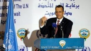 المبعوث الدولي إلى اليمن إسماعيل ولد الشيخ أحمد
