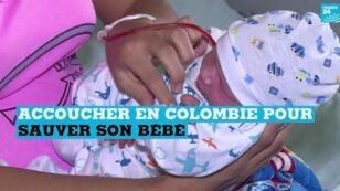 De plus en plus de Vénézuéliennes se rendent en Colombie pour accoucher