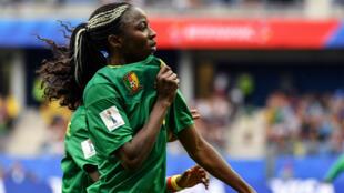 Ajira Nchout a inscrit les deux buts de son équipe.