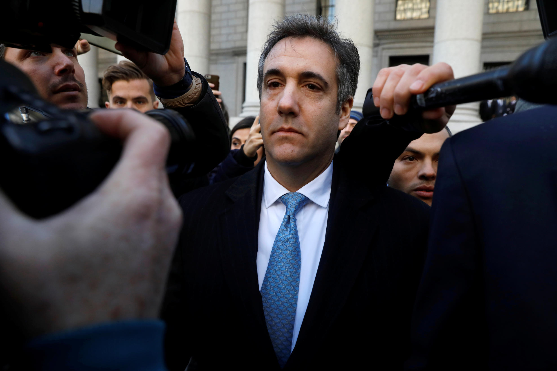 L'ancien avocat de Donald Trump, Michael Cohen, à la sortie du tribunal de Manhattan à New York, le 29 novembre 2018.