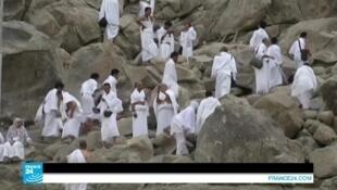 صورة ملتقطة من فيديو فرانس 24