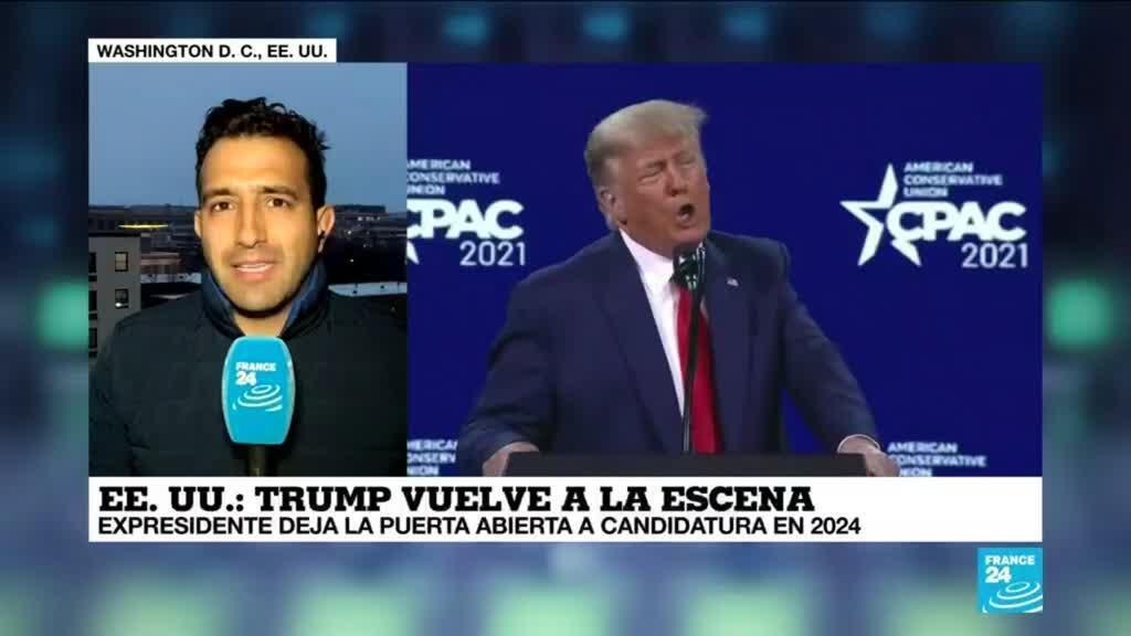 2021-03-01 00:03 Informe desde Washington: Donald Trump volvió a la escena política en la CPAC