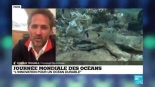 """2020-06-08 16:10 Journée mondiale des océans : """"Cet océan nous rend des services vitaux"""""""