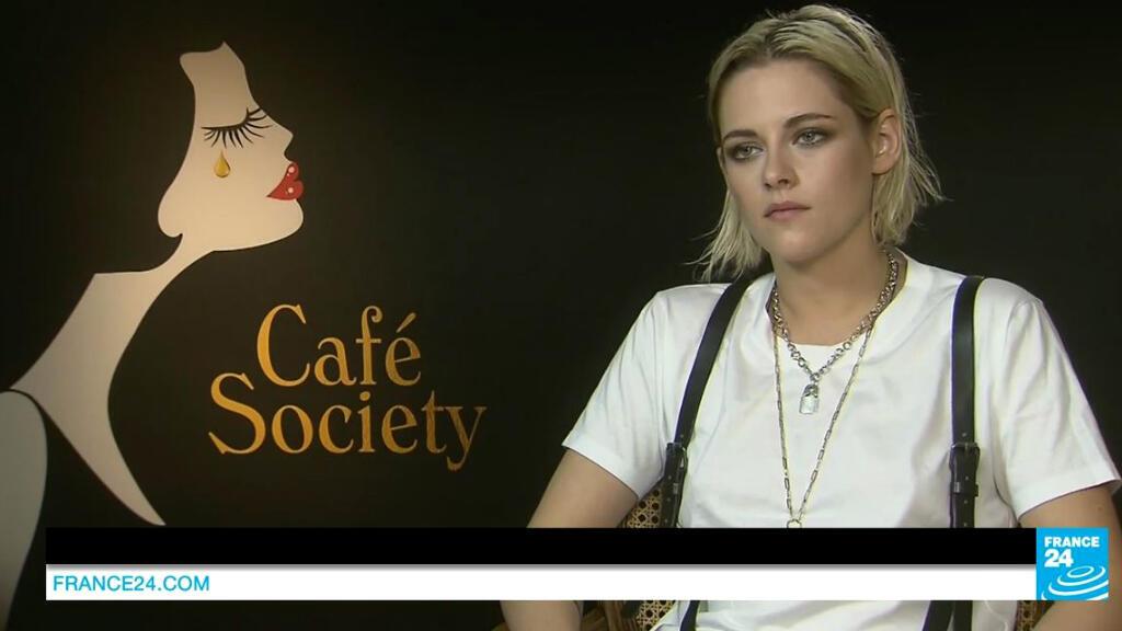 """L'Américaine Kristen Stewart est l'héroïne de """"Café Society"""", projeté en ouverture du Festival de Cannes."""