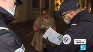 2020-04-01 11:01 Coronavirus : Couvre-feu prolongé jusqu'au 15 avril à Mulhouse