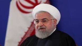 حسن روحاني في طهران- 6 أغسطس/آب 2019.