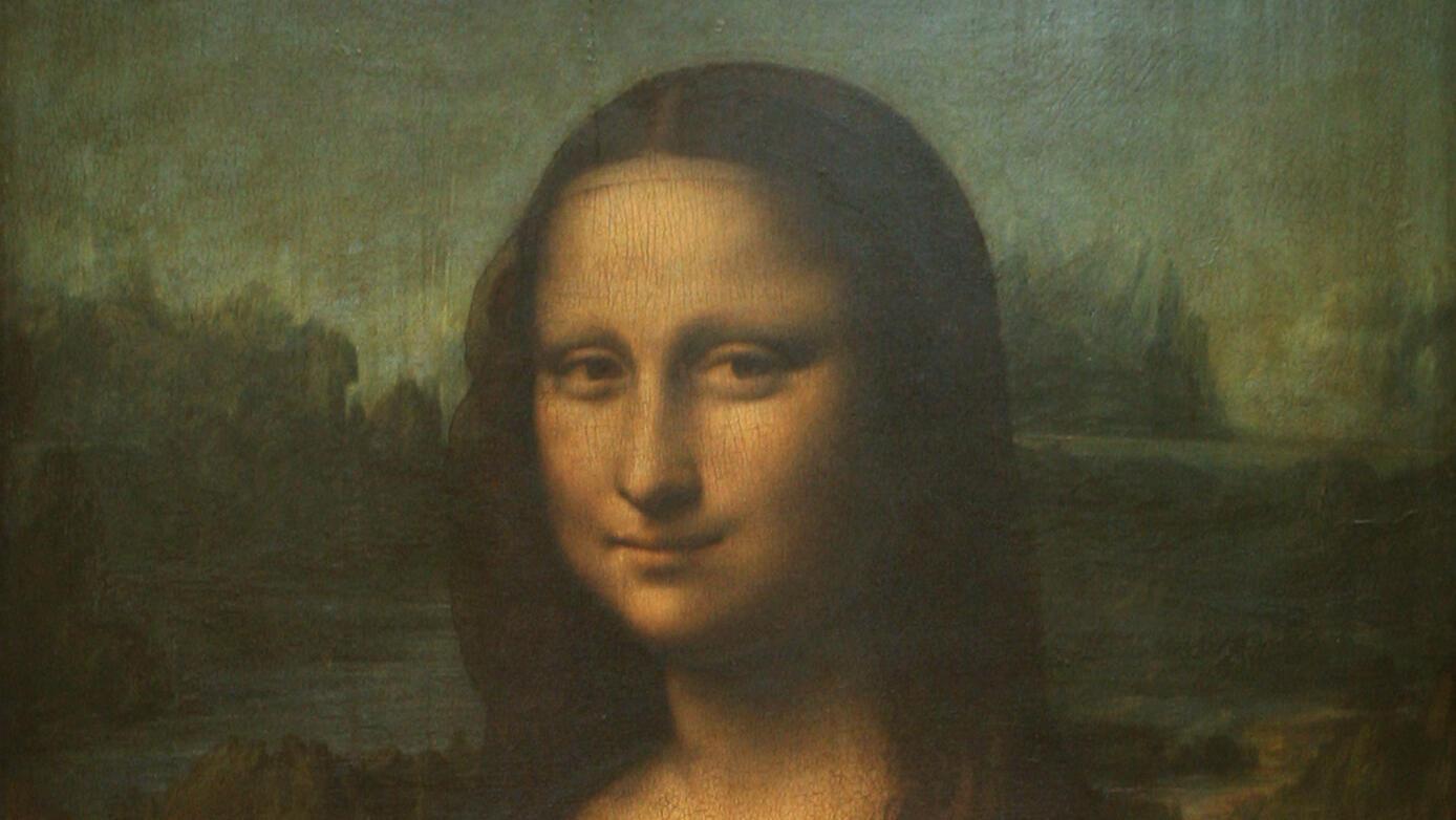 Vista de la Mona Lisa, de Leonardo Da Vinci, expuesta en el Museo del Louvre de París. Archivo.