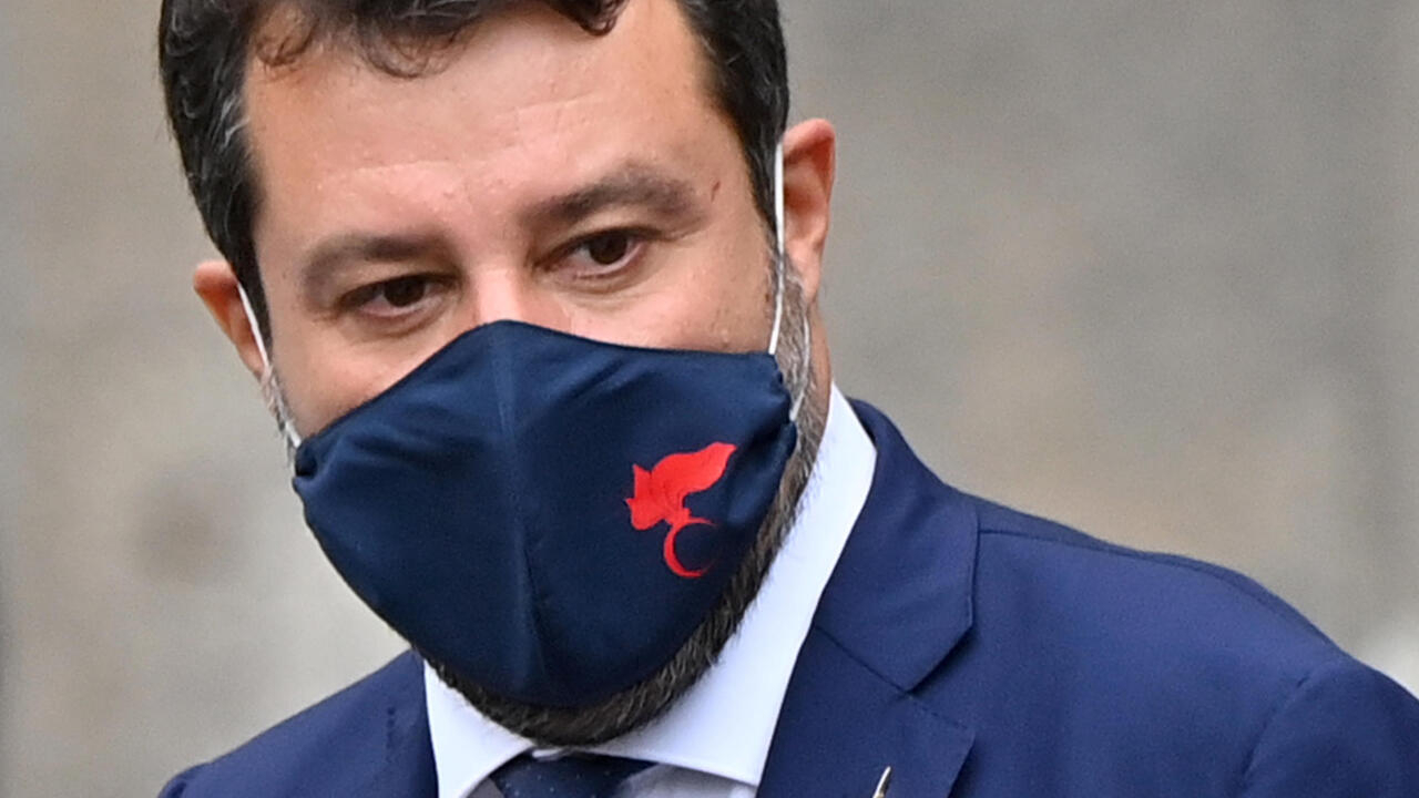 Italy's right-wing leader Salvini to face trial over 2019 migrant ship stand-off