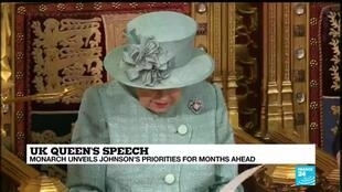 "2019-12-19 12:36 UK Queen's speech: ""My govt will embark on an ambitious programme of domestic reform"""
