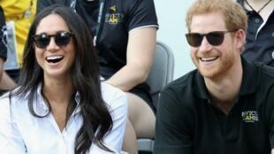 الأمير هاري وخطيبته ميغن ماركل