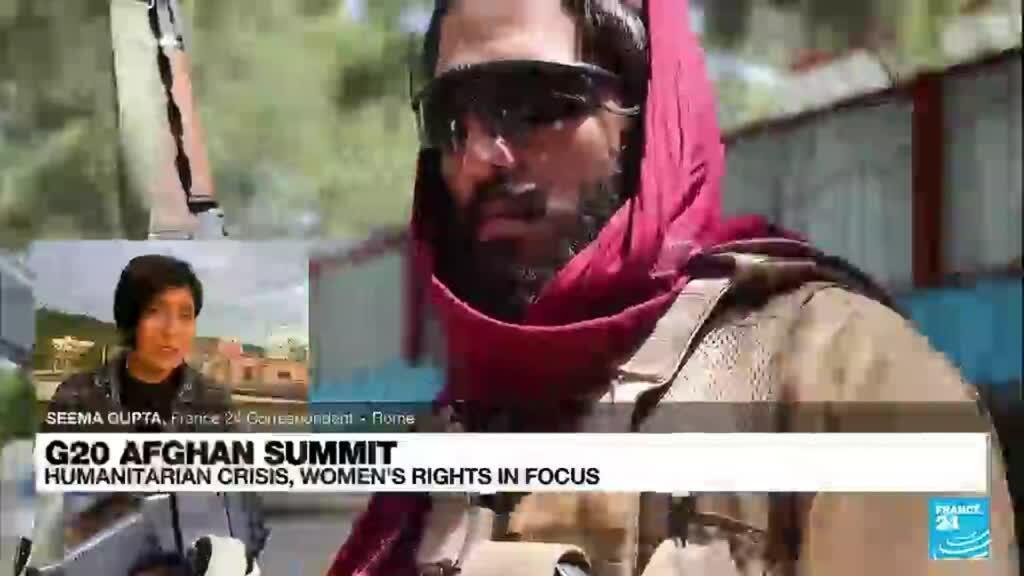 2021-10-12 08:31 Humanitarian crisis in focus as Italy hosts G20 Afghan summit