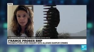 2020-09-24 18:11 France probes BNP Paribas for alleged complicity in Sudan crimes