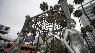 "The Marilyn Monroe statue had been perched atop a small gazebo at the beginning of the ""Walk of Fame"", part of a monument dedicated to Hollywood's most famous actresses"