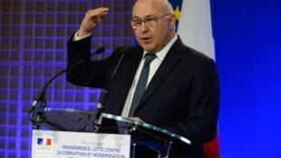 وزير المالية الفرنسي ميشال سابان