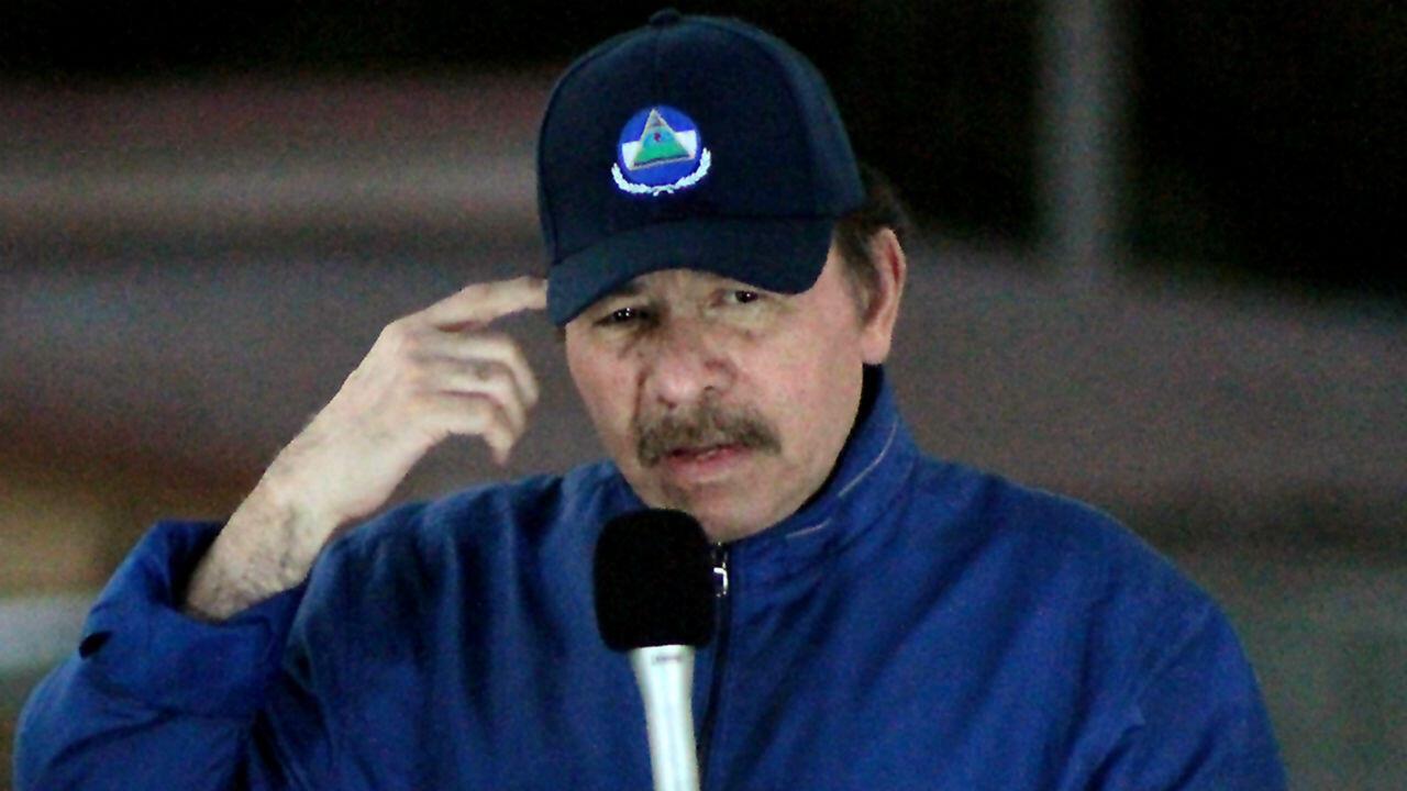 Archivo-El presidente de Nicaragua, Daniel Ortega, durante un discurso en Managua, el 21 de marzo de 2019.