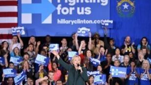 هيلاري كلينتون في نيفادا بلاس فيغاس الجمعة 19 شباط/فبراير 2016